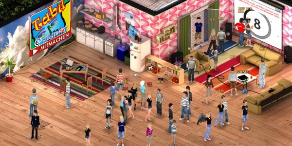 virtual worlds for teens flirt