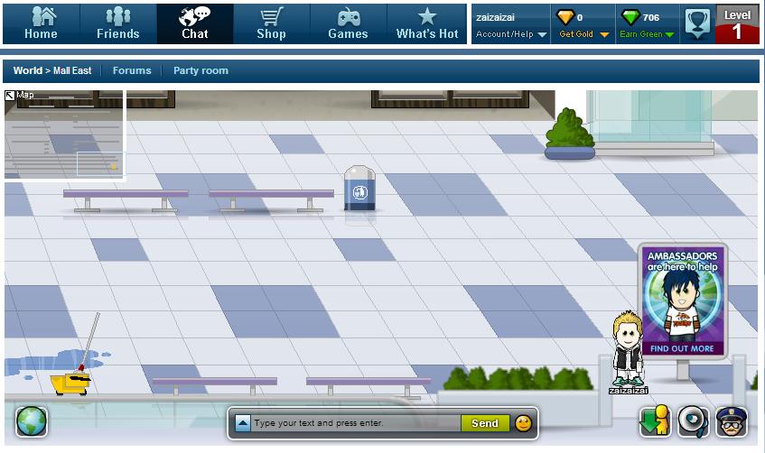 Access moovecom 3D Chat 3D World Virtual World 3D Avatar