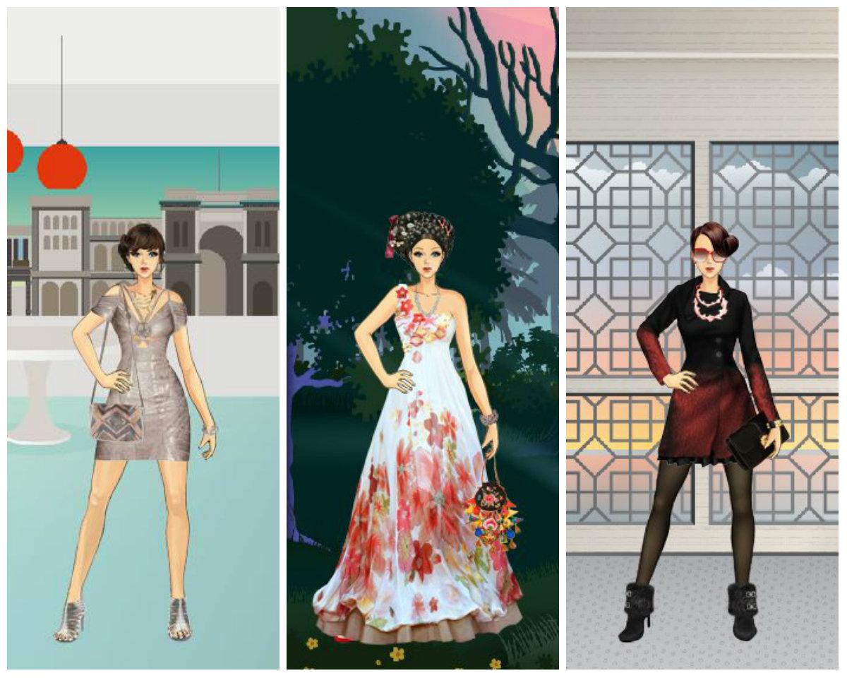 Girl dress up games catwalk fashion show 74