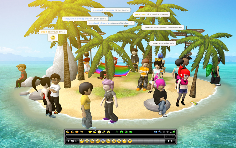 chatting online games for free This is a selected list of notable massively multiplayer online games which are free-to-play in some form without ever requiring a subscription or other payment.