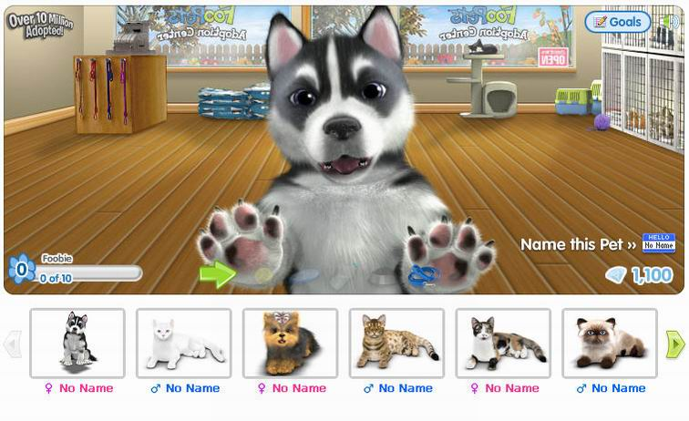 Image of: Talking Foopets Virtual Worlds For Teens Virtual Animal Games Virtual Worlds For Teens