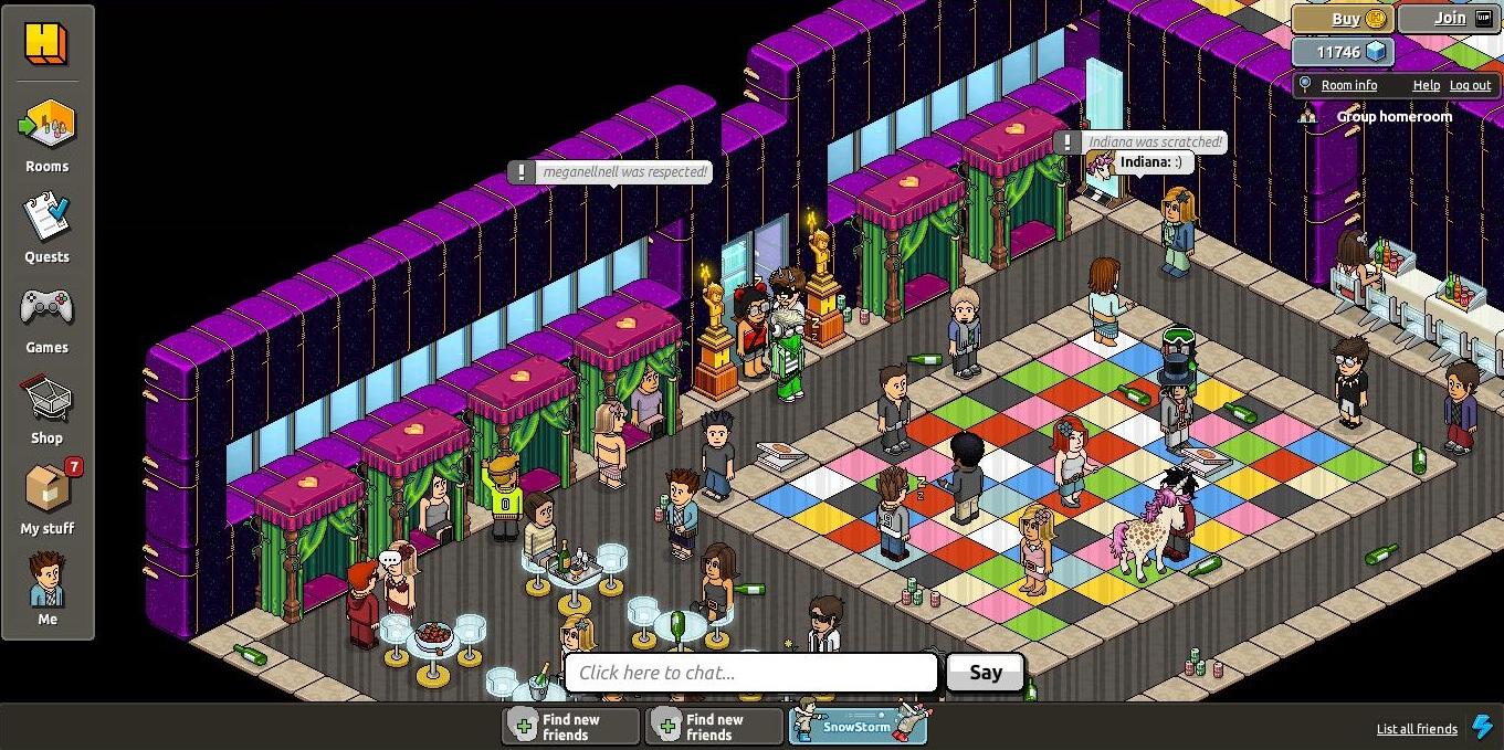 Habbo Hotel Screenshots - Virtual Worlds for Teens