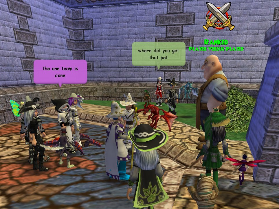 Wizard 101 chat