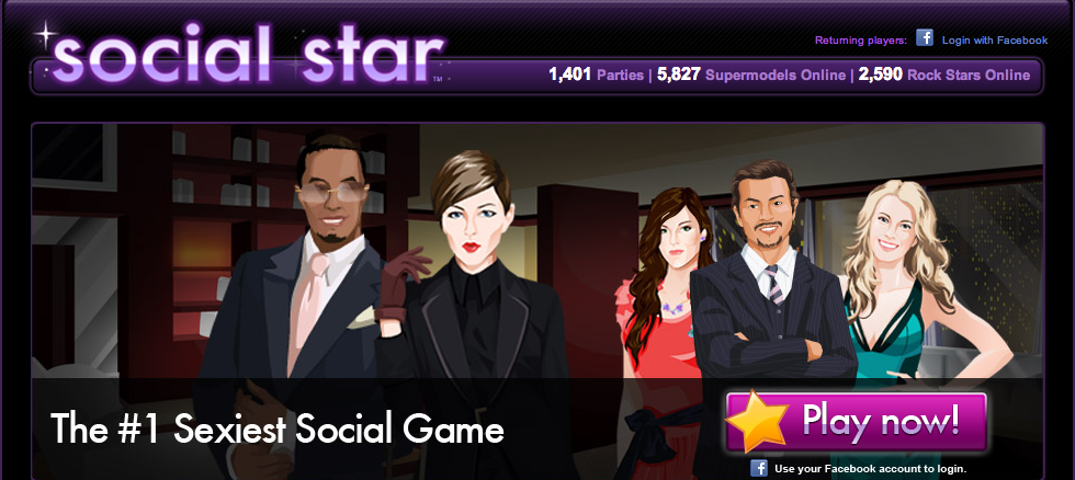 Social Star Facebook Game