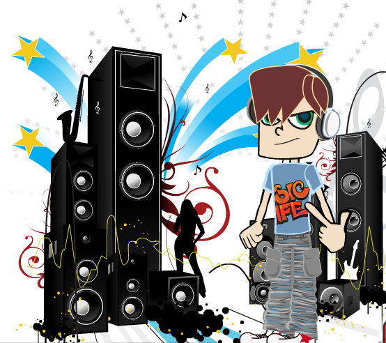 rapper-style-dressup