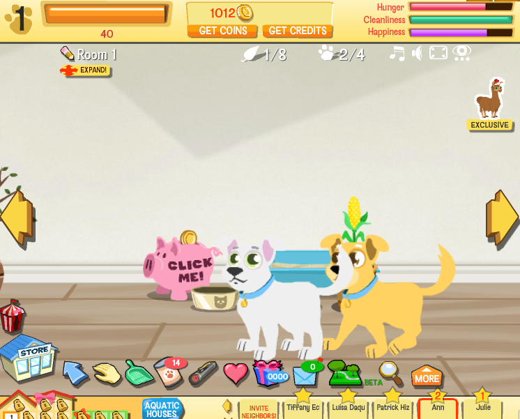happy pets games free