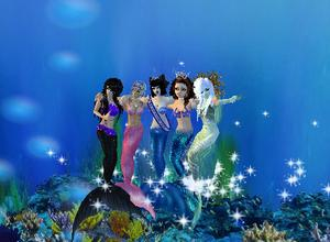 IMVU mermaid