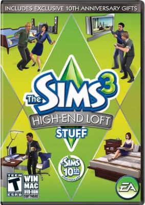 The Sims 3 High End Loft Stuff