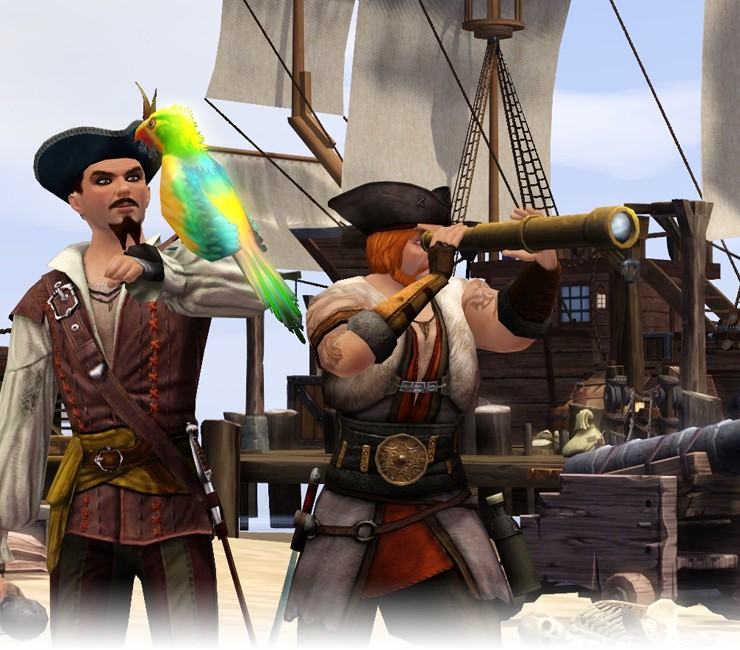 The Sims Medieval Pirates & Nobles Adventure Pack