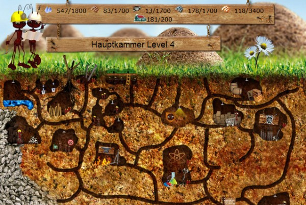 World of ants virtual worlds for teens for Animals that live in soil for kids