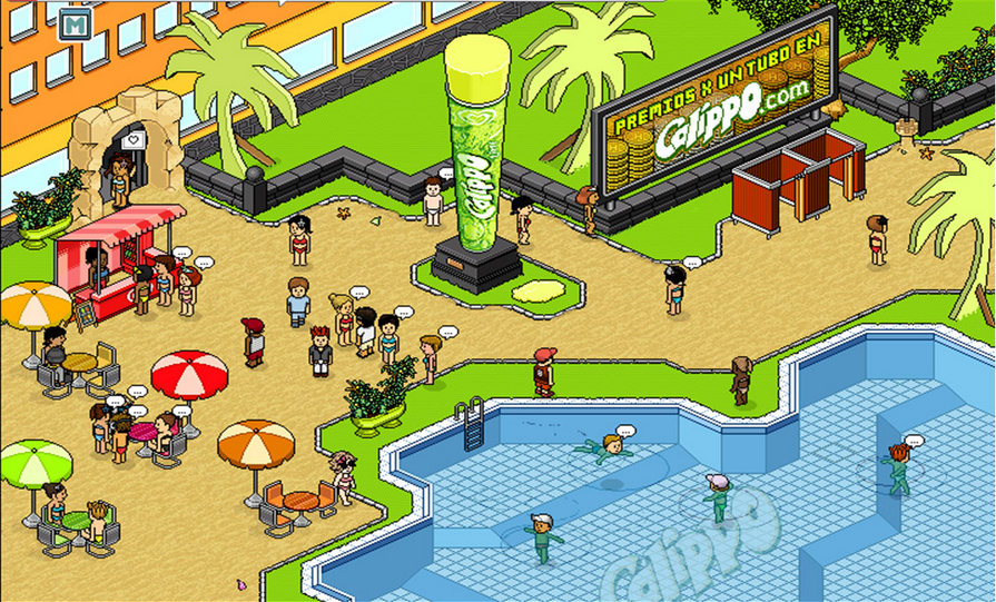 Online games like habbo
