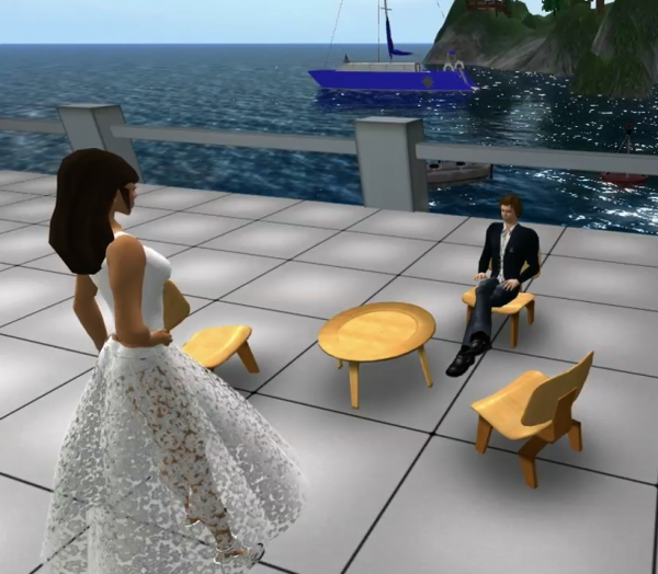 Virtual world dating games online