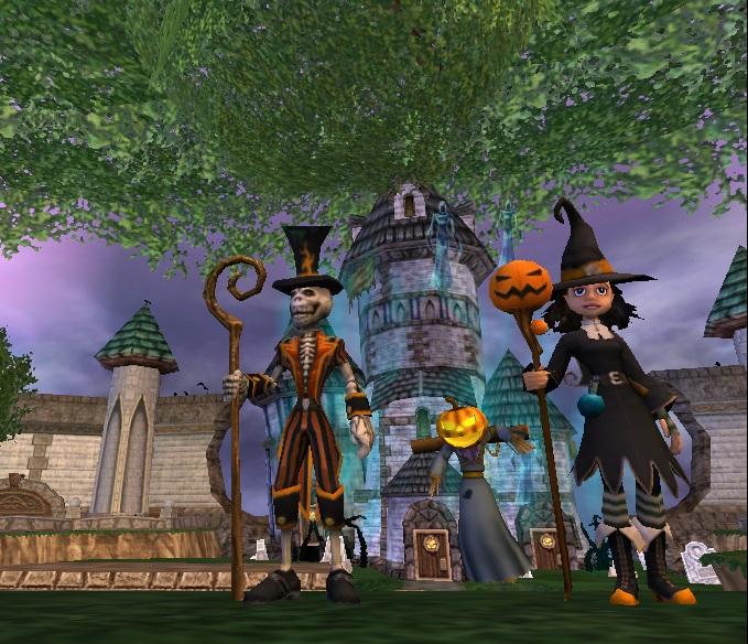 wizard101halloween