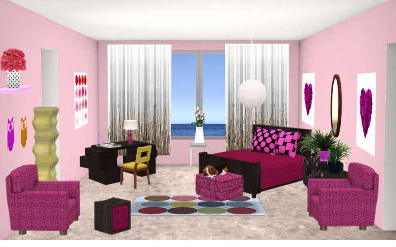interior design games virtual worlds for teens - Home Designs Games