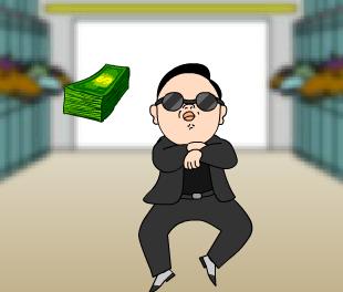 Gangnam_Style_Catching_Treasures