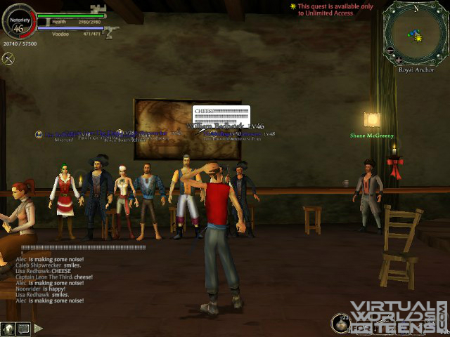 Pirates of the caribbean online screenshots virtual worlds for teens game info sciox Image collections