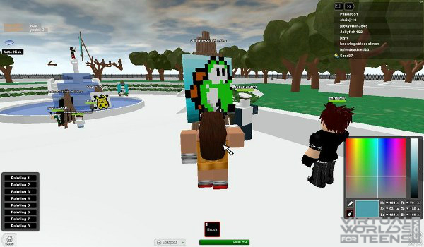 Roblox - Virtual Worlds for Teens