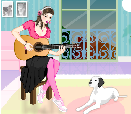 Romantic_Guitar_Girl_Dress_Up_Game