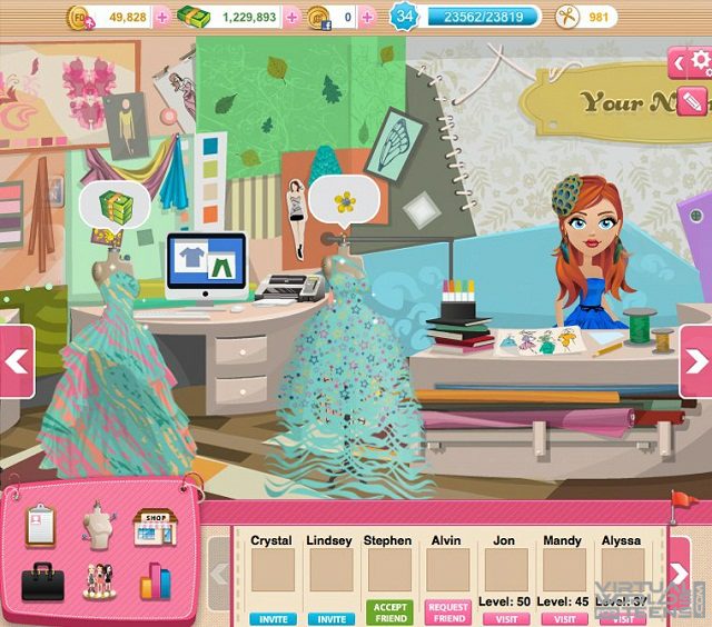 Fashion Designer - Virtual Worlds For Teens