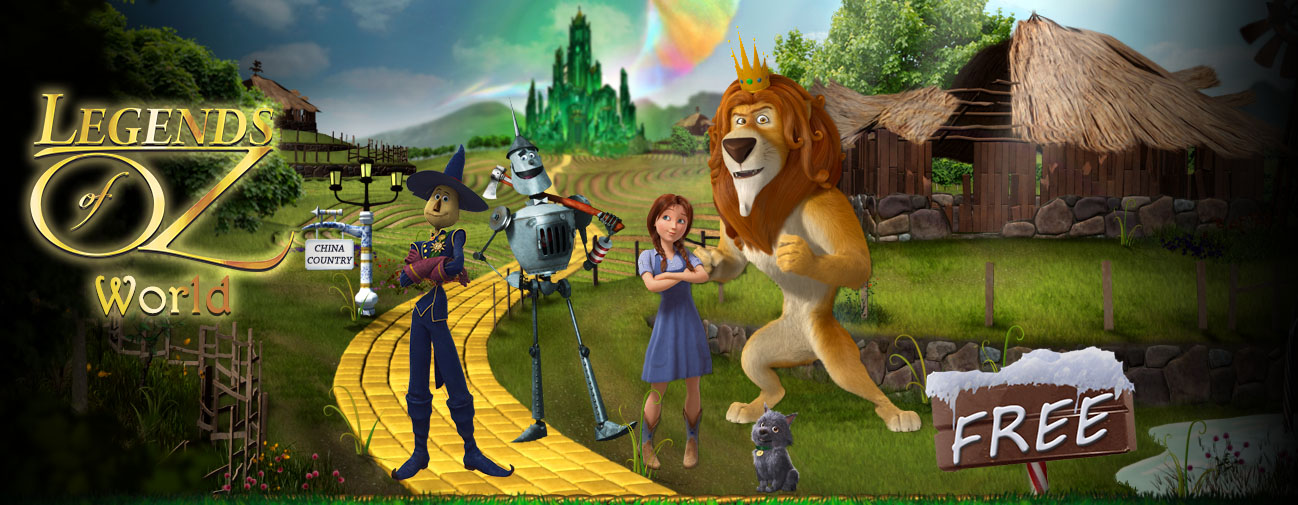 the world of oz game