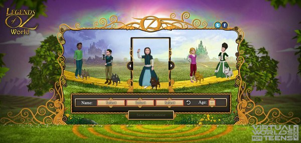 Legends of Oz World2