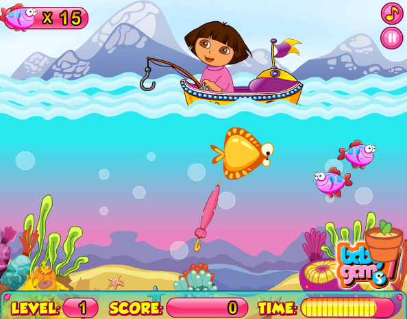Dora_Fishing_Adventure_Games