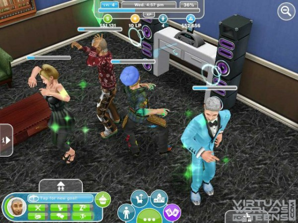 Games Where You Can Have A Family Virtual Worlds For Teens