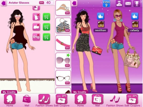 Games Like Fashion Top Model Girls Virtual Worlds For Teens