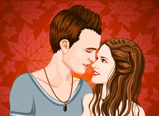 vampire-couple-love-kiss