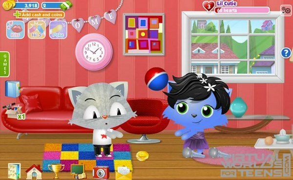 Pet City Facebook Virtual Worlds For Teens