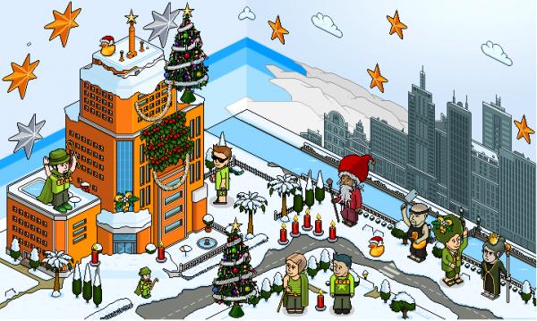 Habbo Hotel Christmas