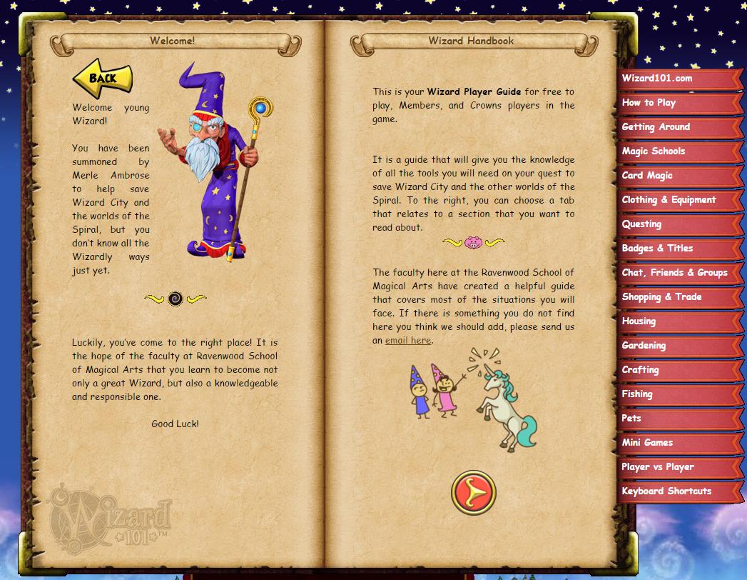 Wizard Handbook