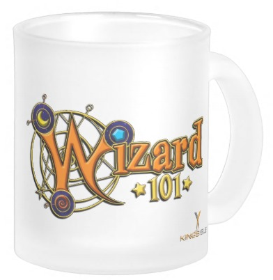 Wizard101 CustomFrostedGlassMug