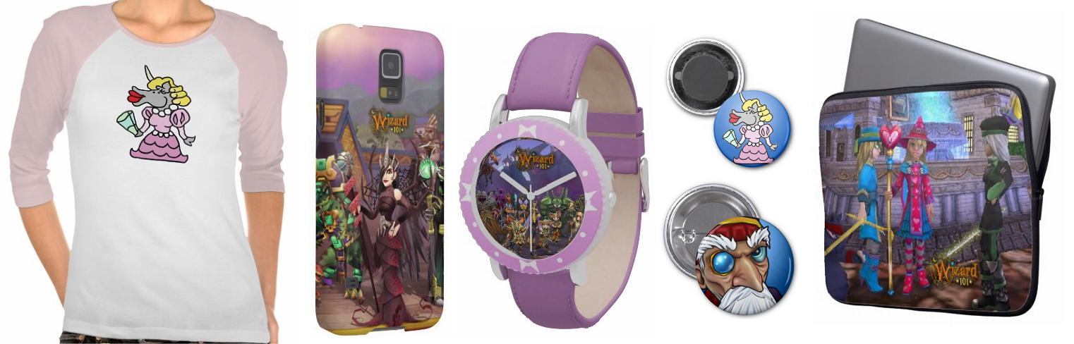 Wizard101 Merchandise