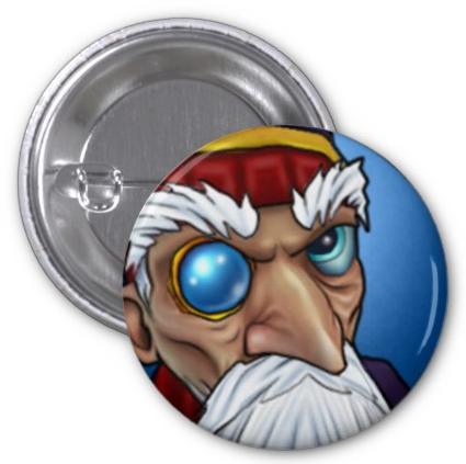 Wizard101CustomButtonPinMerleAmbrose