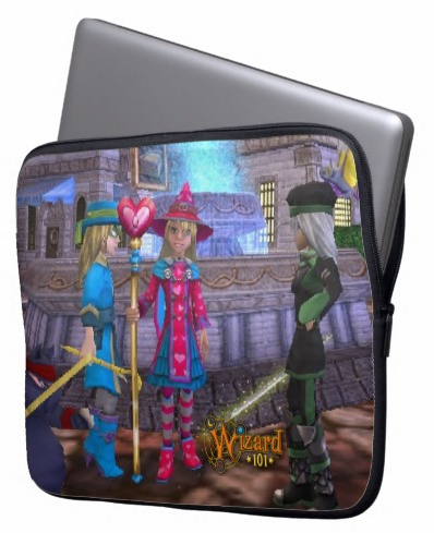 Wizard101CustomLaptopSleeve