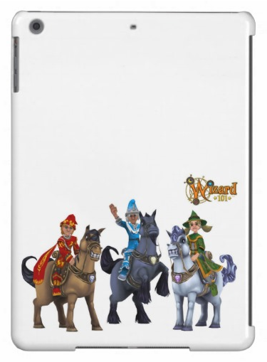 Wizard101CustomiPadCase