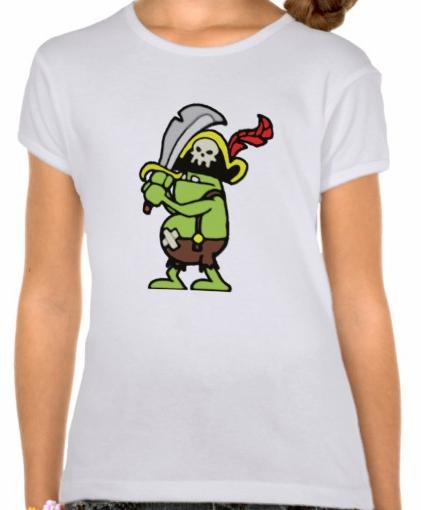 Wizard101GirlsBellaFittedBabydollT-Shirt