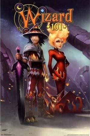 Wizard101TrioPosterPrint