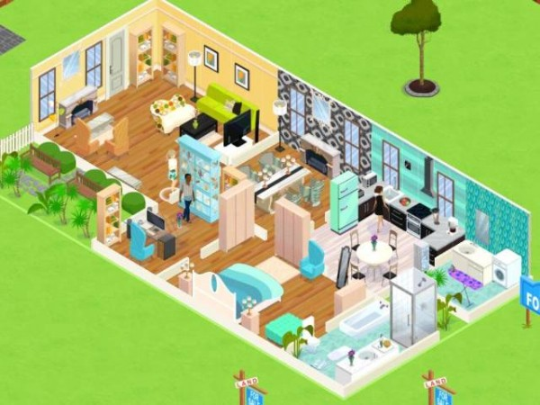 Interior design games virtual worlds for teens House remodeling games online