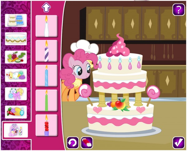 Applejack's Wedding Cake Creator