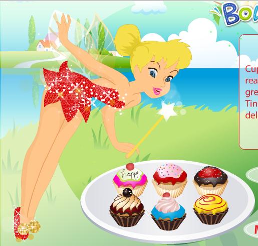 Tinkerbell_Cupcake