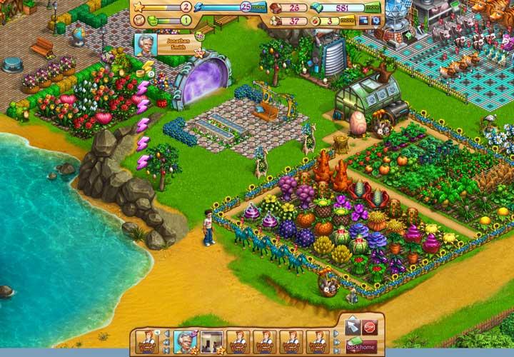 Astro Garden Spiel