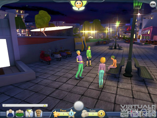 Free virtual worlds for teens