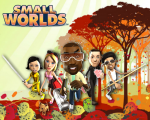 SmallWorlds Characters in an autumn background