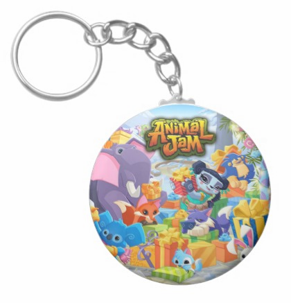 AnimalJamCustomKeyChain