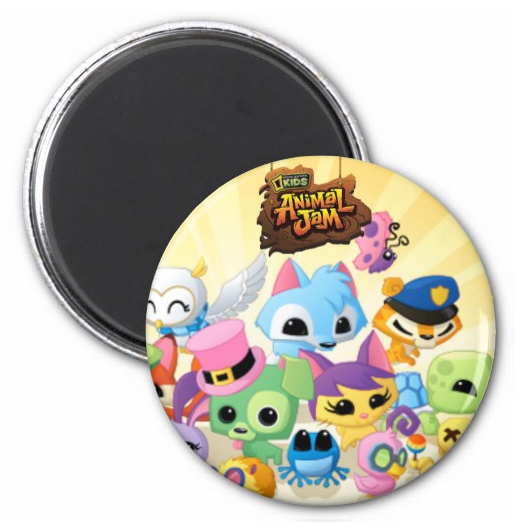 AnimalJamCustomMagnet
