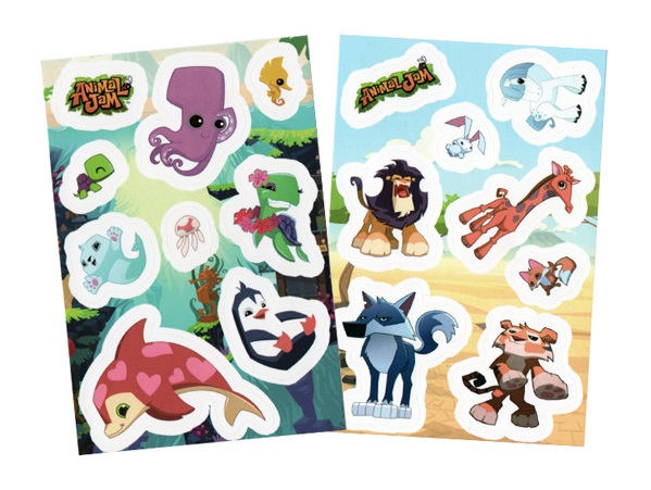 AnimalJamStickerSheets
