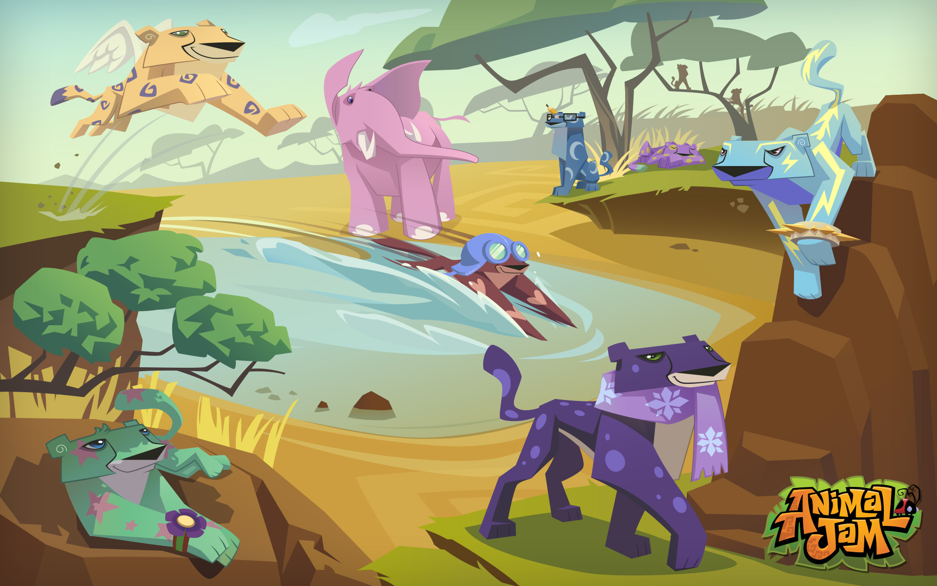animal jam how to change animals