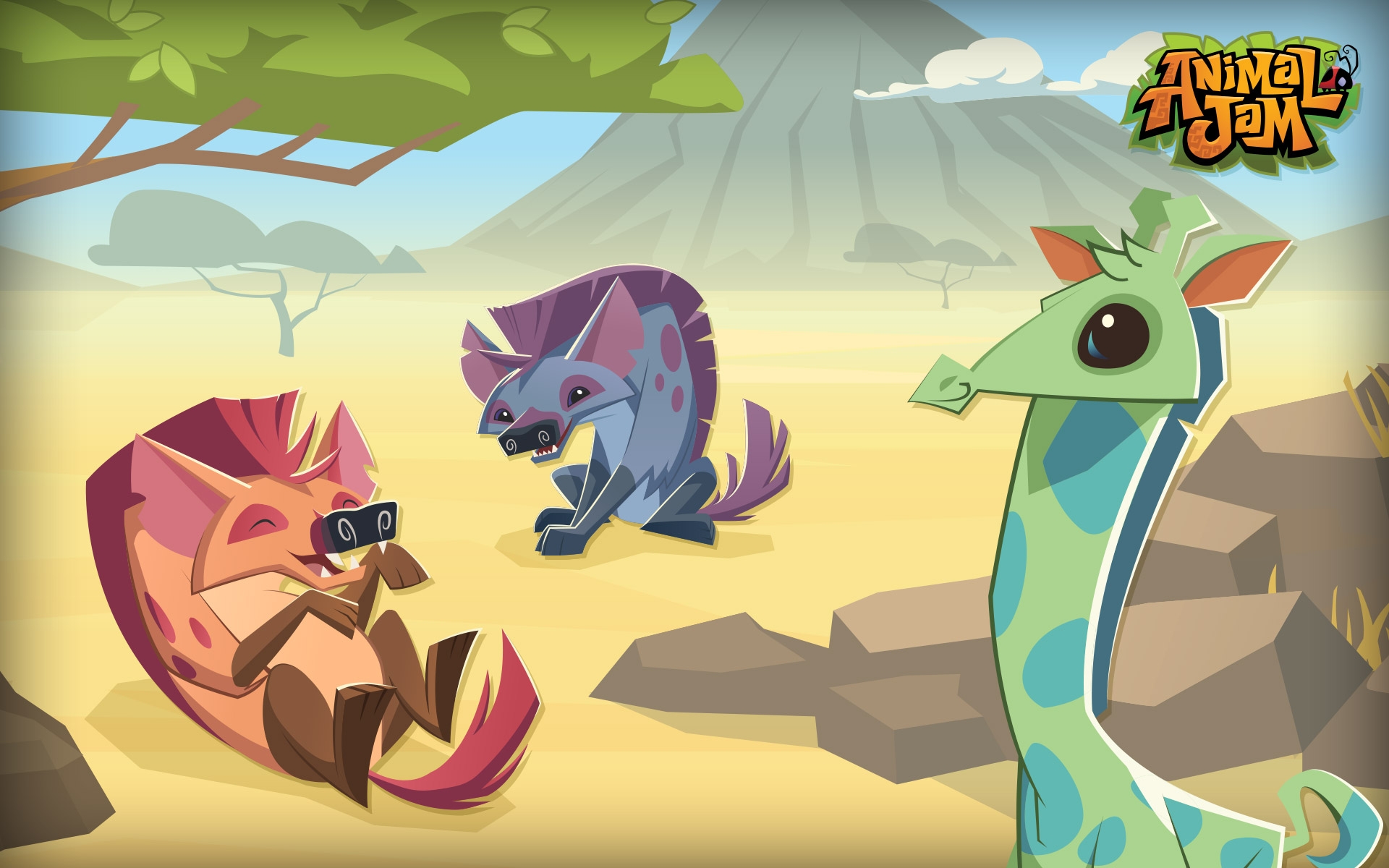 Animal jam store fan gear guides gift certificates and - Animal jam desktop backgrounds ...
